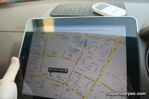 Google Maps On Apple iPad