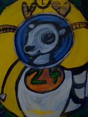 stranger bill (revansj) Tags: abstract art painting bill acrylic inspired stranger revansj