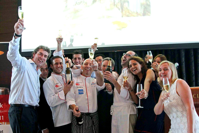 Restaurant Week launch - group landscape