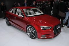 Audi A3 sedan concept (Autoviva.com) Tags: show sedan geneva a3 motor concept audi 2011 autoviva