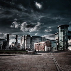 Belfast (Mr Bultitude) Tags: street city waterfront mr pavement neil belfast courthouse hdr carey bultitude