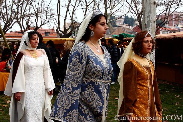 Ellas y la moda medieval