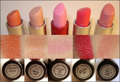 MAC Lipstick Swatch