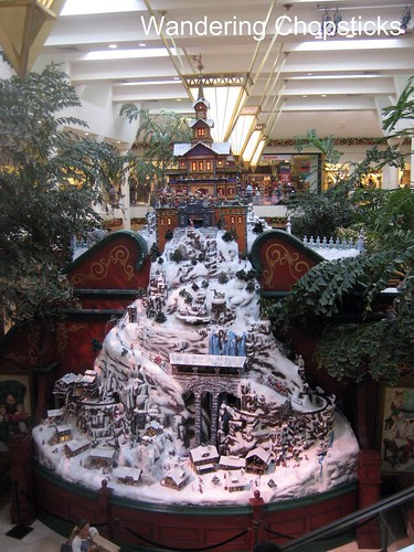 South Coast Plaza at Christmas 1