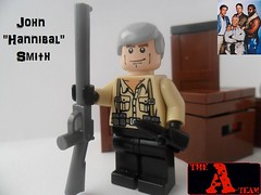 "The A-Team: John ""Hannibal"" Smith (G g) Tags: face teams team gun lego character smith cigar boxes ba murdock crates ateam theateamjohnhannibalsmith"
