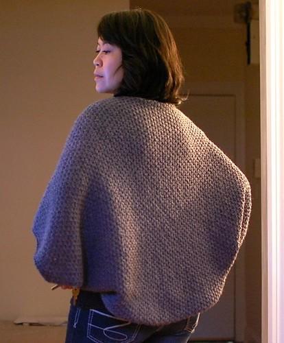 Kimono Cape back