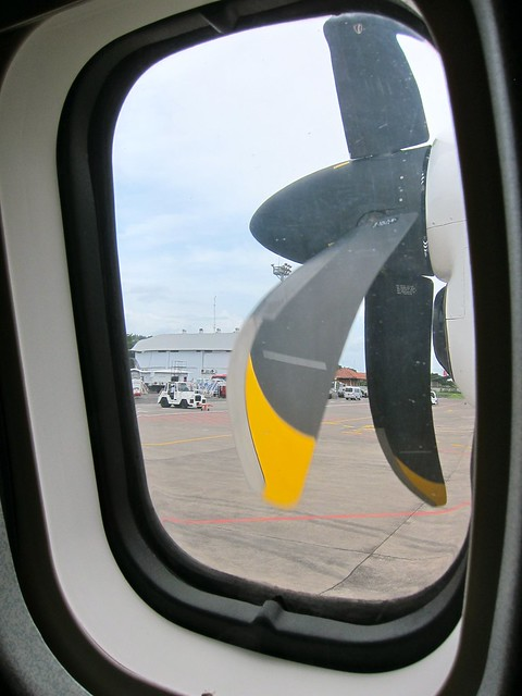 Window With View Of  Rotor