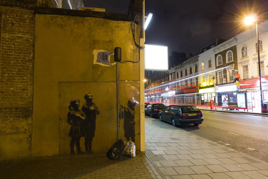 Very Little Helps - Banksy