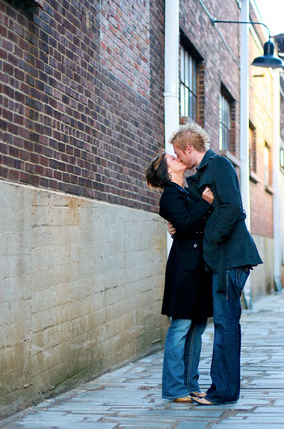 Alley Kiss by Stella Dolce Photography