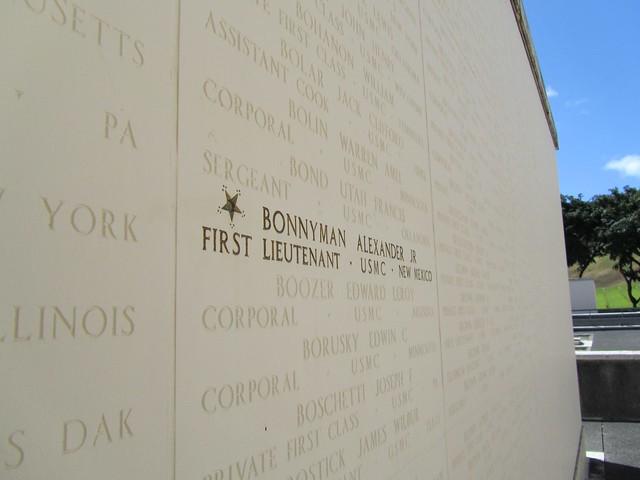 National Memorial Cemetery of the Pacific, Honolulu, the Punchbowl, Oahu, Hawaii