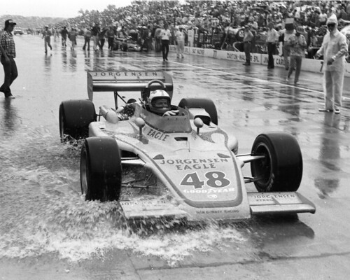 Shot of Bobby Unser in 1975