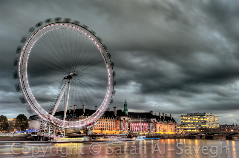 London Eye High Dynamic Range