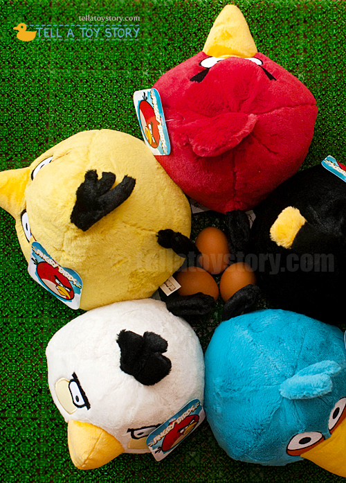 Angry Birds Plushie