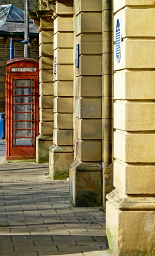 Pillars and Phonebox by Tim Green aka atoach