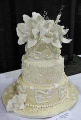 Lace Debutant Cake