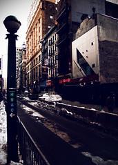 45AC← (mheidelberger2000) Tags: nyc newyorkcity winter urban architecture subway downtown manhattan watertower financialdistrict fireescape mta 4train lowermanhattan ctrain atrain fultonstreet nassaustreet 5train fultonstreetstation cafetomato