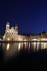 Luzern_ (b.anastasia) Tags: luzern jesuitenkirche kapellbrcke