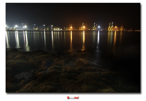 North Butterworth Container Terminal at night(DRI)