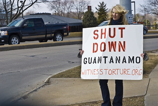 Anti-Torture Vigil - Week 40: Emily