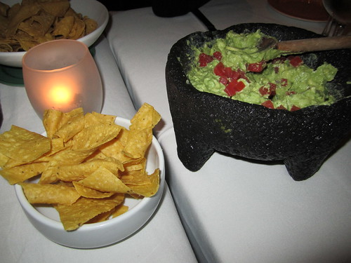 Fresh Guacamole and Corn Chips