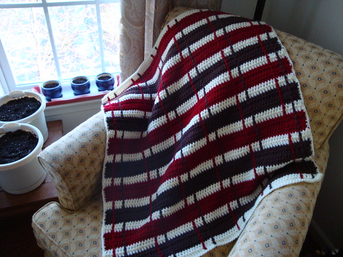 Sock Monkey Blanket 01