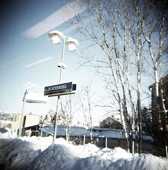 (massi_pugliese) Tags: winter snow film holga sweden stockholm neve inverno stoccolma svezia lettherightonein blackberg