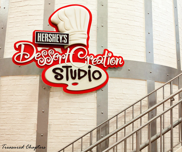 Dessert Studio stairway