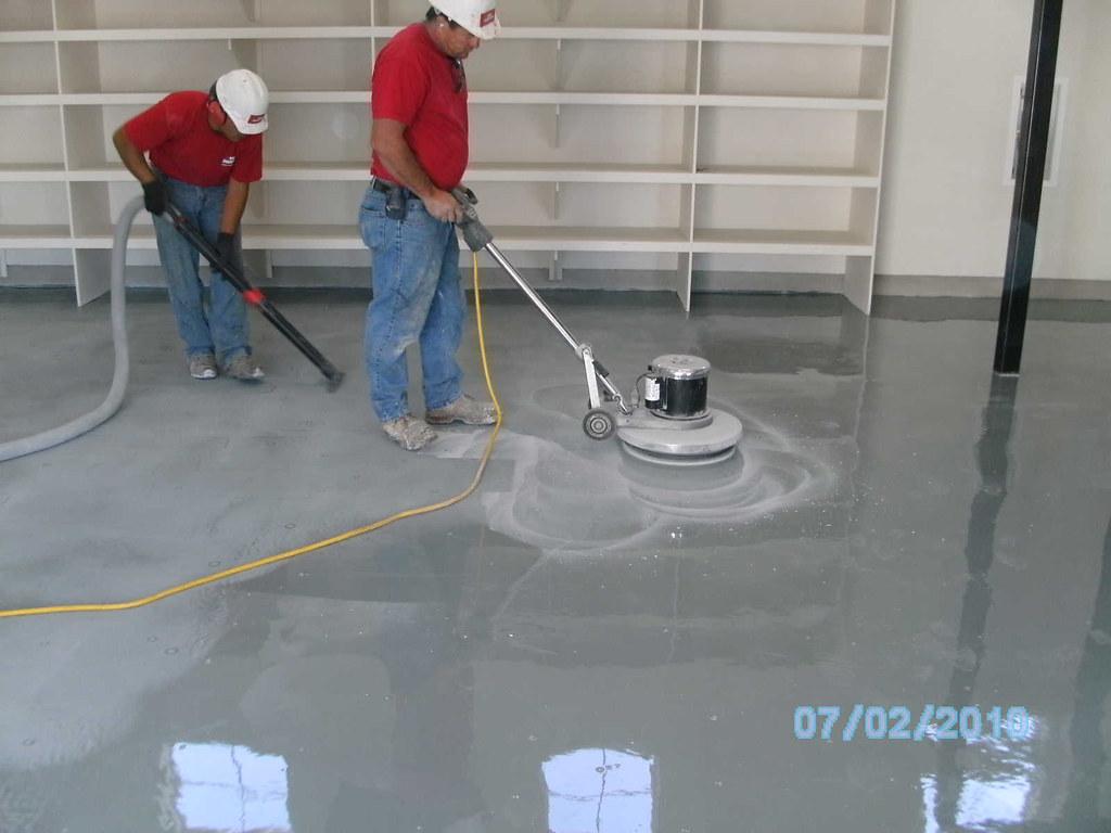 Epoxy Floor Coating Process