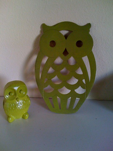 repainted owls