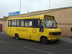 The Big Lemon P162 TDW at Asda Hollingbury (Ryanbus22) Tags: west bus buses wales asda sussex mercedes benz big lemon brighton halls east mercedesbenz stagecoach minibus tdw rhondda the hollingbury plaxton varley plaxtonbeaver p162 rhonddabus thebiglemon plaxtonbus brightonbus stagecoachwales sussexbus p162tdw thebiglemonbus thebiglemonbrighton hollingburyasda