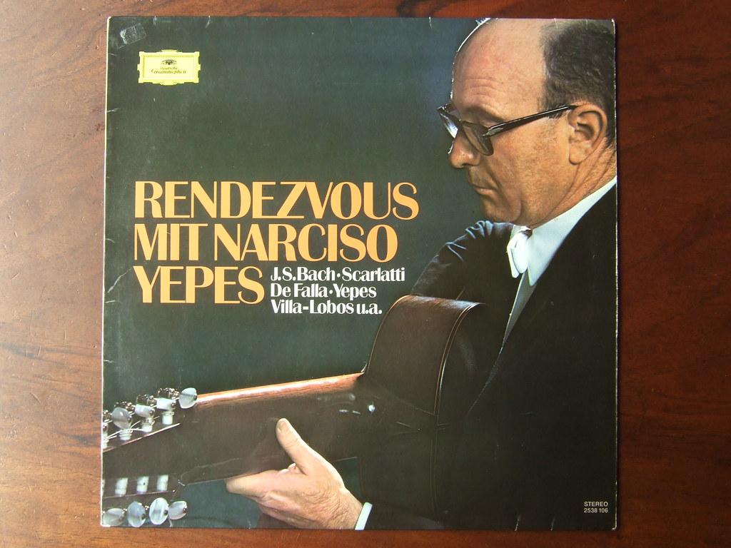 Bach, Scarlatti, De Falla, Yepes, Villa-Lobos u.a. - Rendezvous mit Narciso Yepes Guitar, DGG 2538 106