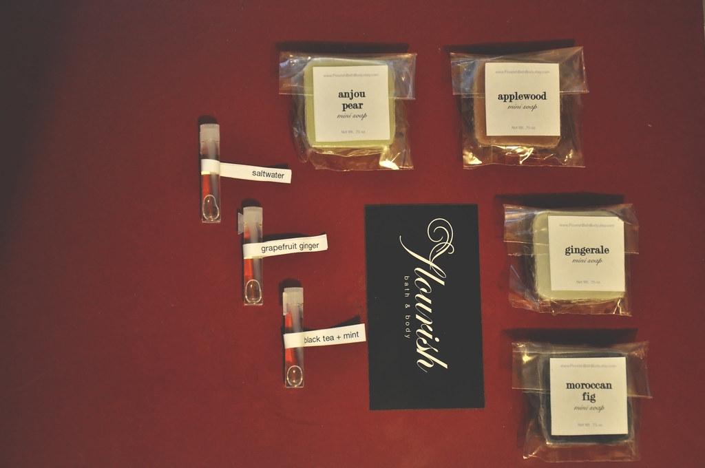 mini perfume & soap