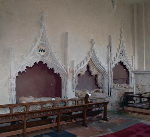 de Burgh tombs