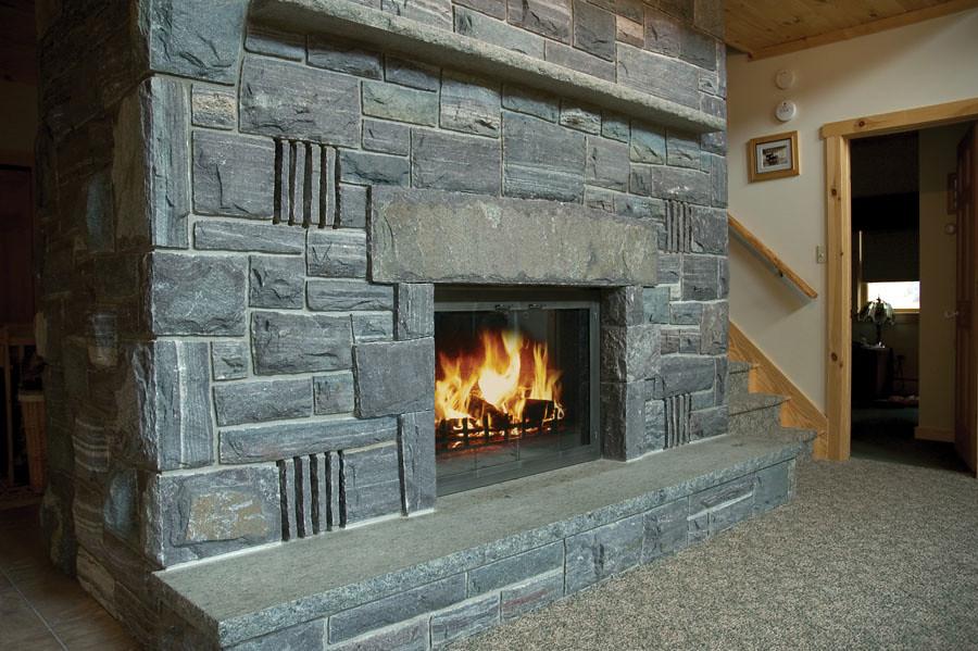 Corinthian Granite® Ashlar, Roughly Squared Roughly Rectangular, Special Sawn Corners, Lintel