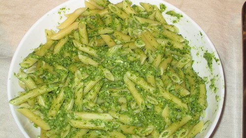 Broccoli Rabe Pesto Pennette