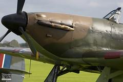 G-HURI - Z5140 - 72036 - Private - Hawker Hurricane Mk12A - Duxford - 061008 - Steven Gray - CRW_8601
