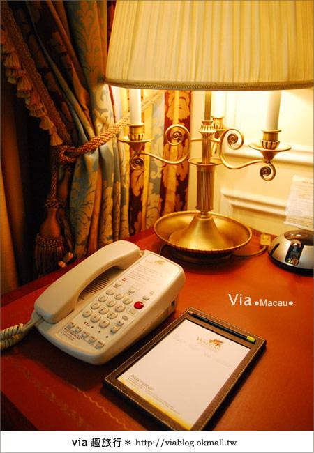 【澳門住宿】澳門威尼斯人酒店~享受奢華的住宿風格!26