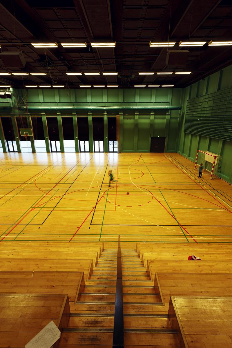 Sporthall, DGI-byen