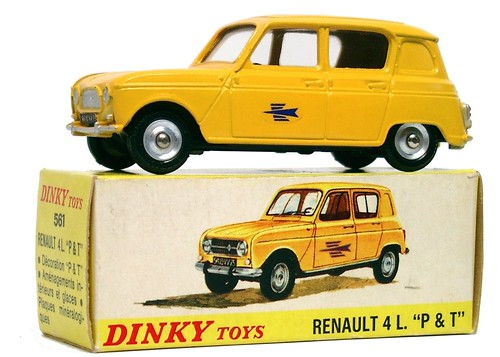 Dinky F 4 Postes