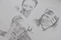 """Tony Shalhoub (""""Monk""""), Petter Northug (Norwegian skier), Ben Whishaw (""""Perfume: The Story of a Murderer"""") (AlexEdg) Tags: drawing monk tonyshalhoub benwhishaw perfumethestoryofamurderer petternorthug norwegianskier"""