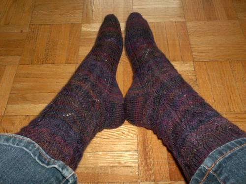 March 2011 Mystery Socks