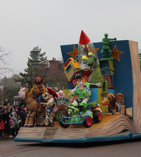 Toy Story 2 float