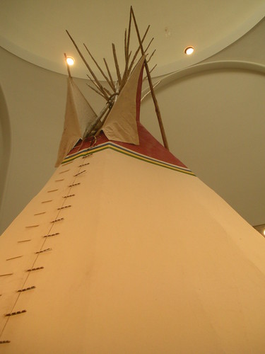 Tipi at Brooklyn Museum