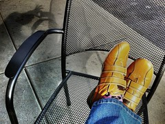 Day 277 (MacroMarcie) Tags: 60 relaxation 111picturesof2011 shoes putyourfeetup macromarcie marcie marcielynn