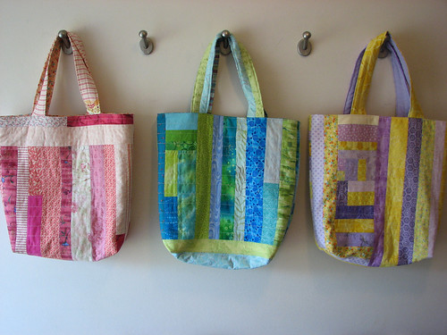 Quilted Bags - Back
