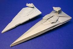 Star destroyer origami (Matayado-titi) Tags: starwars origami space destroyer imperial spaceship starship stardestroyer sugamata matayado