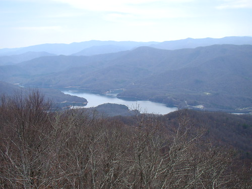the view---Fontana Lake