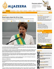 Brazil stares down the US on Libya - Opinion - Al Jazeera English (Prachatai) Tags: aljazeera