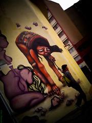 Hanging (Vitor Chiarello) Tags: street streetart mackenzie motorola graffitti rua consolao graff paulo so zn5 motozine