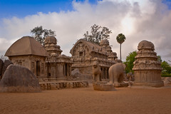 The Mahabalipuram Series  Pancha Rathas (me_ram) Tags: architecture photography indianapolis tourist photoblog april chennai tamilnadu pancha mahabalipuram copyrighted rathas mahabs 2011 pancharathas ramchandran maharajapuram maharajapuramcom